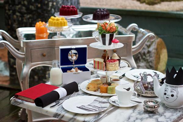 alice and wonderland tea party london