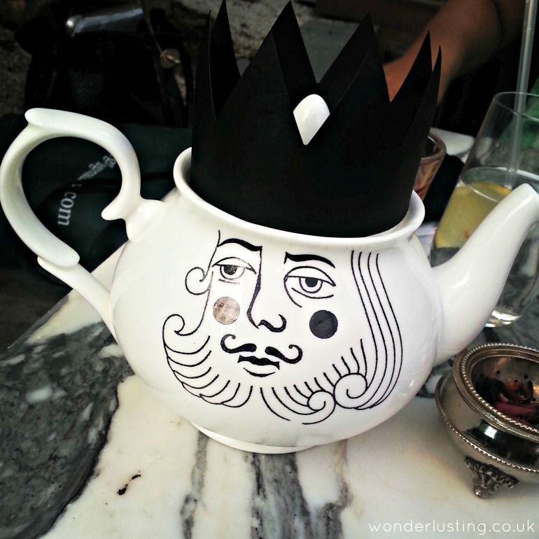 Luna and Curious designed teapot