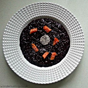 Recipe: Coconut Black Rice With Dragon Fruit & Pawpaw  (vegan, gluten-free, dairy-free)