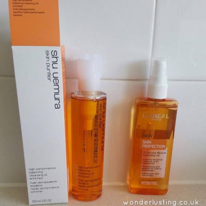 Shu Uemura and L'Oreal. Cleanser twins?