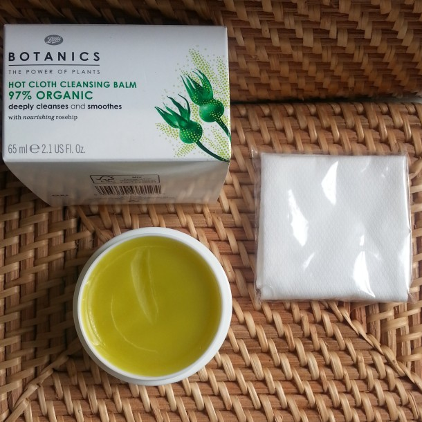 Boots Botanics 97% Organic Hot Cloth Cleansing Balm