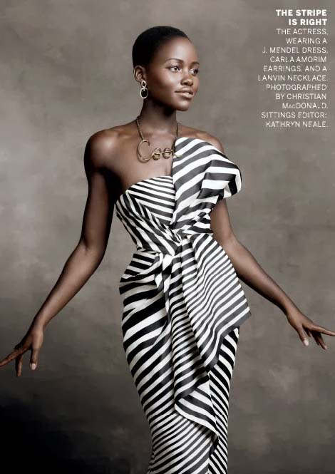 Lupita Nyong'o in January 2014 American Vogue issue, photographed by Christian McDonaldLupita Nyong'o in January 2014 American Vogue issue, photographed by Christian McDonald