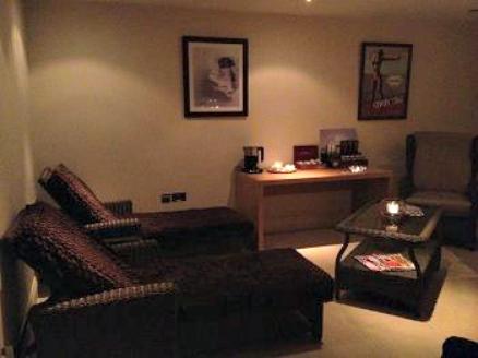 Kukana Spa relaxation room