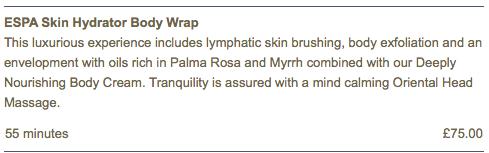 Kukana_Spa-ESPA-skin-hydrator-body-wrap