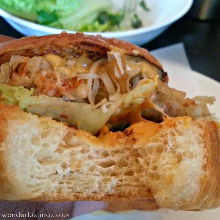 Shrimpy's brioche bun
