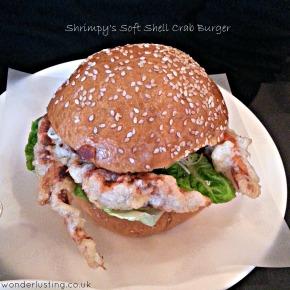 London Dining: Shrimpy's Soft Shell Crab Burger Love2.0