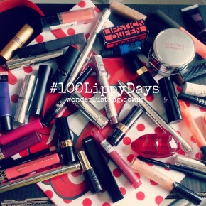 #100LippyDays 100 Days Of Lippiness!