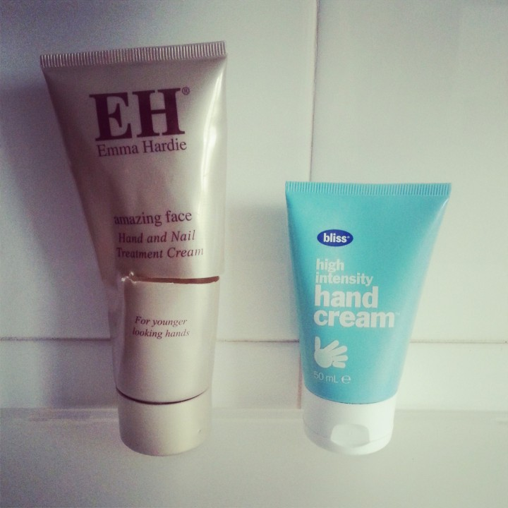 Emma Hardie hand cream replaced with Bliss High Intensity hand cream