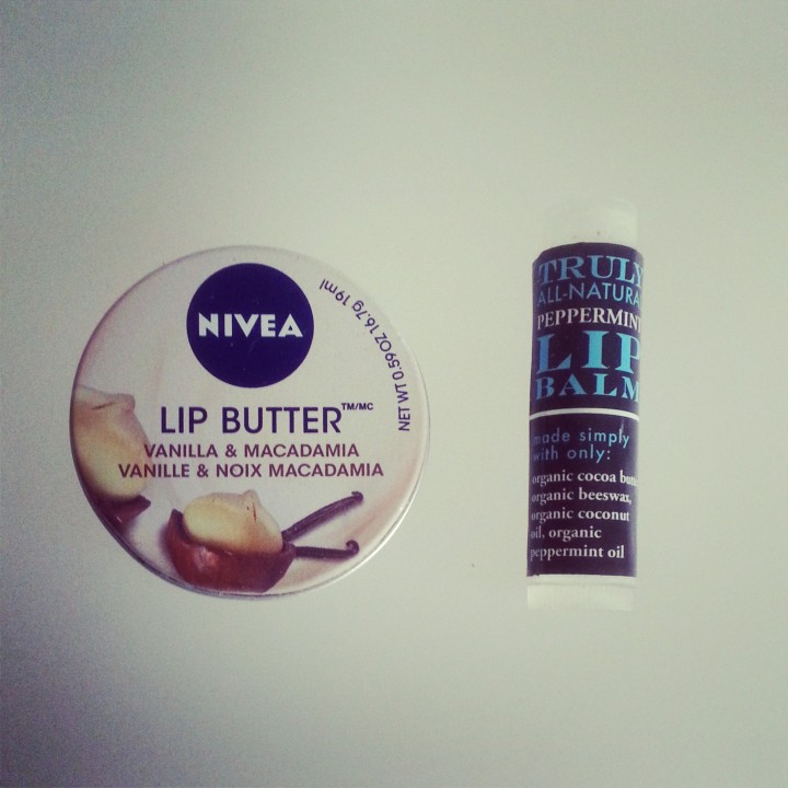 Nivea lip butter replaced with Sprout lip balm