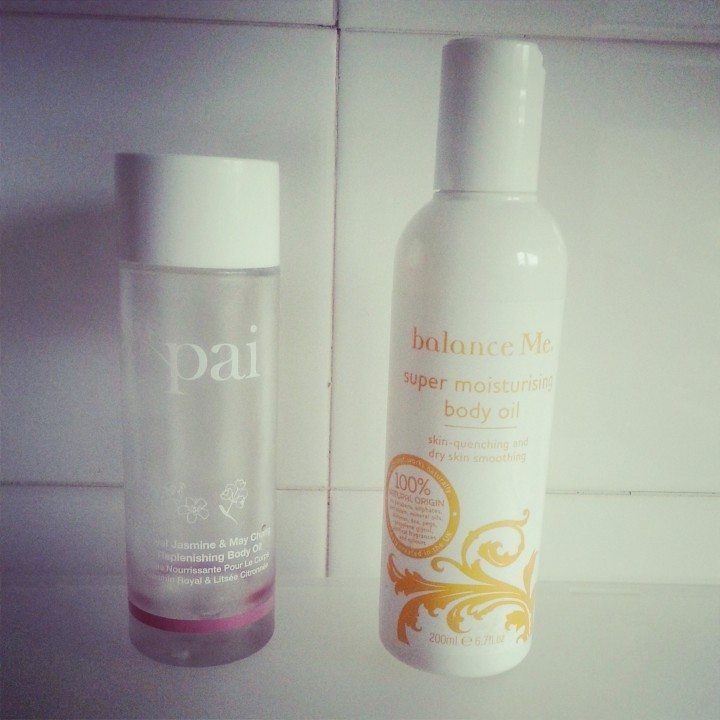 Pai Royal Jasmine & May Chang Replenishing Body Oil replaced with Balance Me Super Moisturising Oil