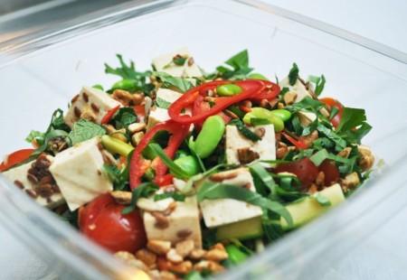 Chop'd Thai Tofu Salad