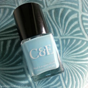 Happy Happy Happy Happy Nails: Crabtree & Evelyn Sky Blue Nail Polish