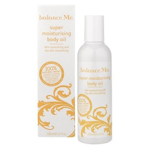Natural Beauty: Balance Me Super Moisturising Body Oil Review