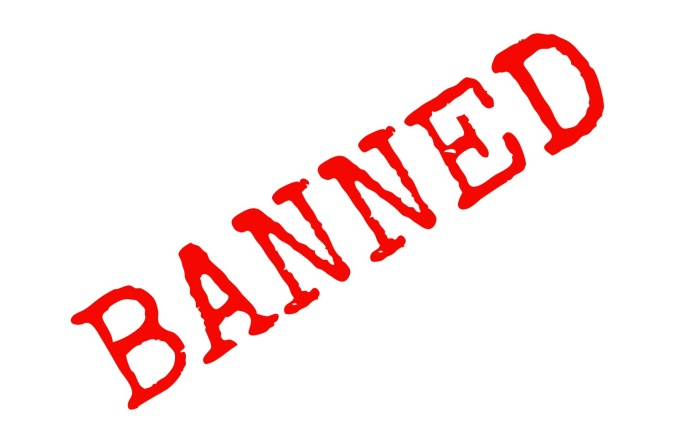 Banned banner