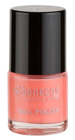 Benecos nail polish Peach Sorbet