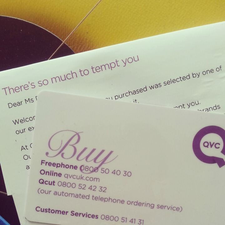Yes QVC there is, so we can't be friends for a while