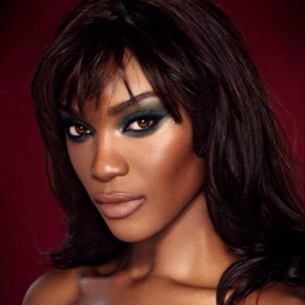 Tiara Young, officially announced as the new face of Charlotte Tilbury makeup