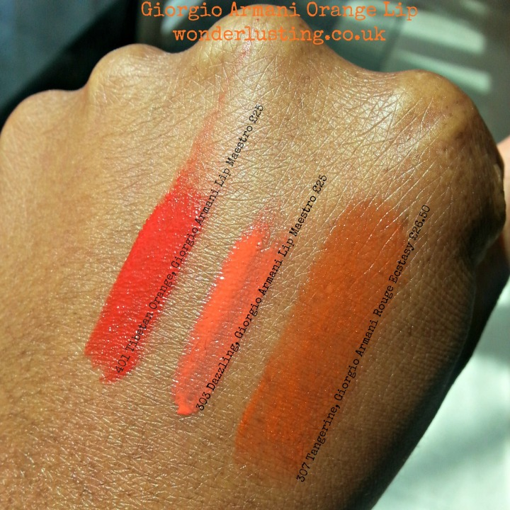 Giorgio Armani Orange lip