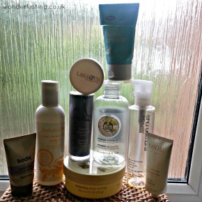 Skincare empties – Balance Me, Bliss, Bodhi, LAQA & Co, Neom, Sarah Chapman, ShuUemura