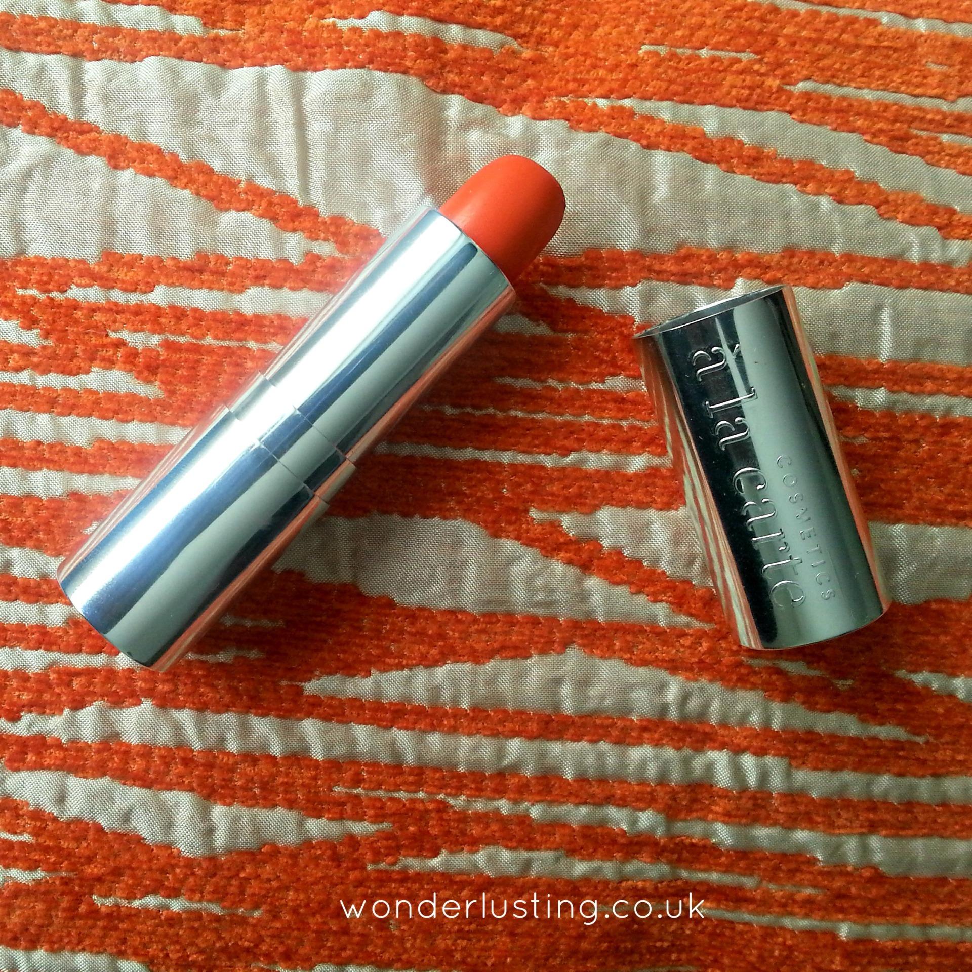 Satsuma matte velvet lipstick, Cosmetics a la carte