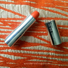 Orange Lipstick Review & Swatch: Satsuma Matte Velvet Lipstick, Cosmetics A La Carte