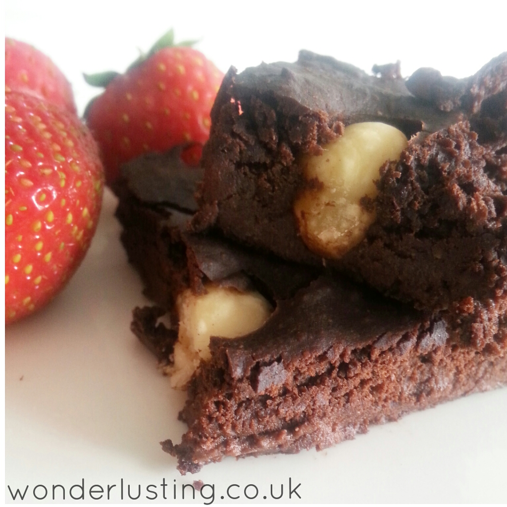 vegan black bean brownie