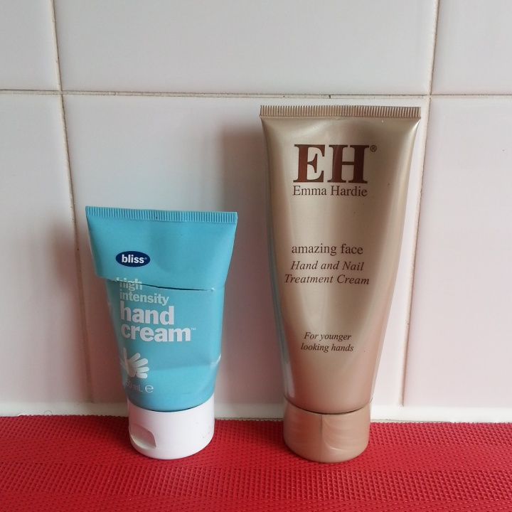 Bliss High Intensity hand cream replaced with Emma Hardie amazing face nail and hand treatment cream