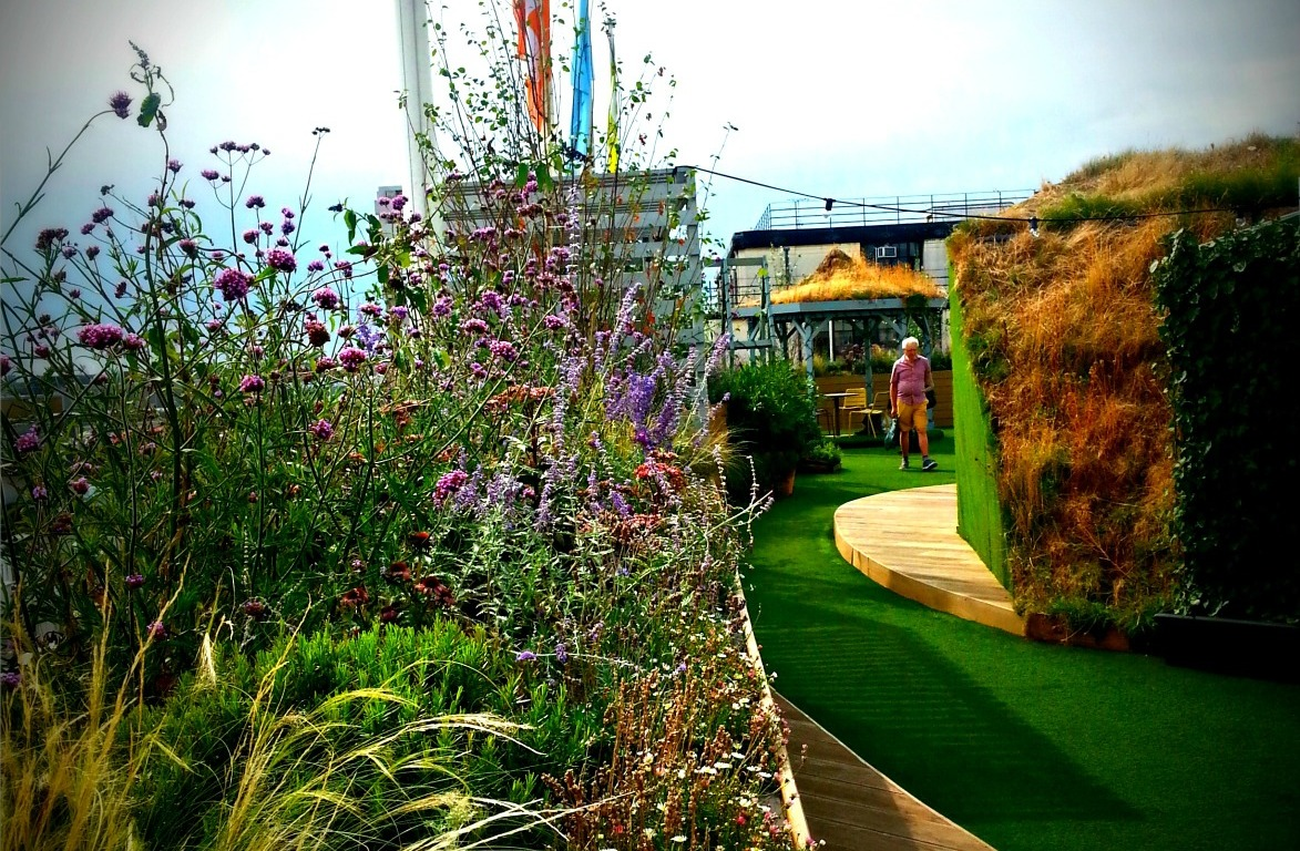 b68dad484069 London: Far from the madding Oxford Street crowds: John Lewis Roof Garden