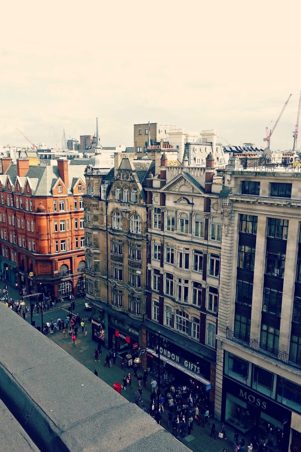 London: Far From The Madding Oxford Street Crowds: John