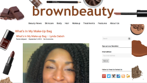 What's In My Make-up Bag with brownbeautytalk