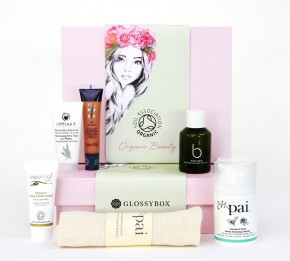 Green & Glam Beauty Boxes for Organic Beauty  Week, 8 – 14 September 2014
