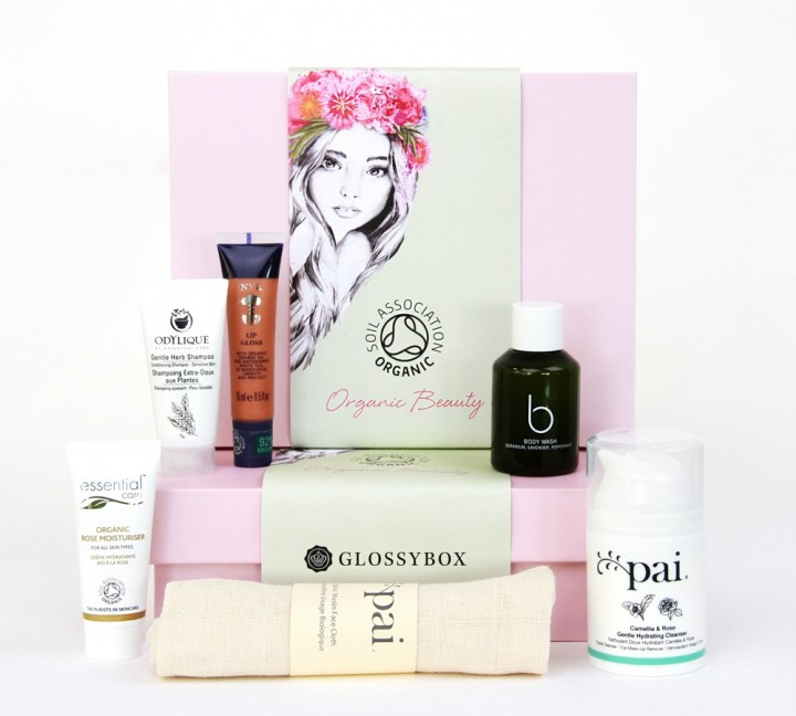 GLOSSYBOX Organic Beauty Box