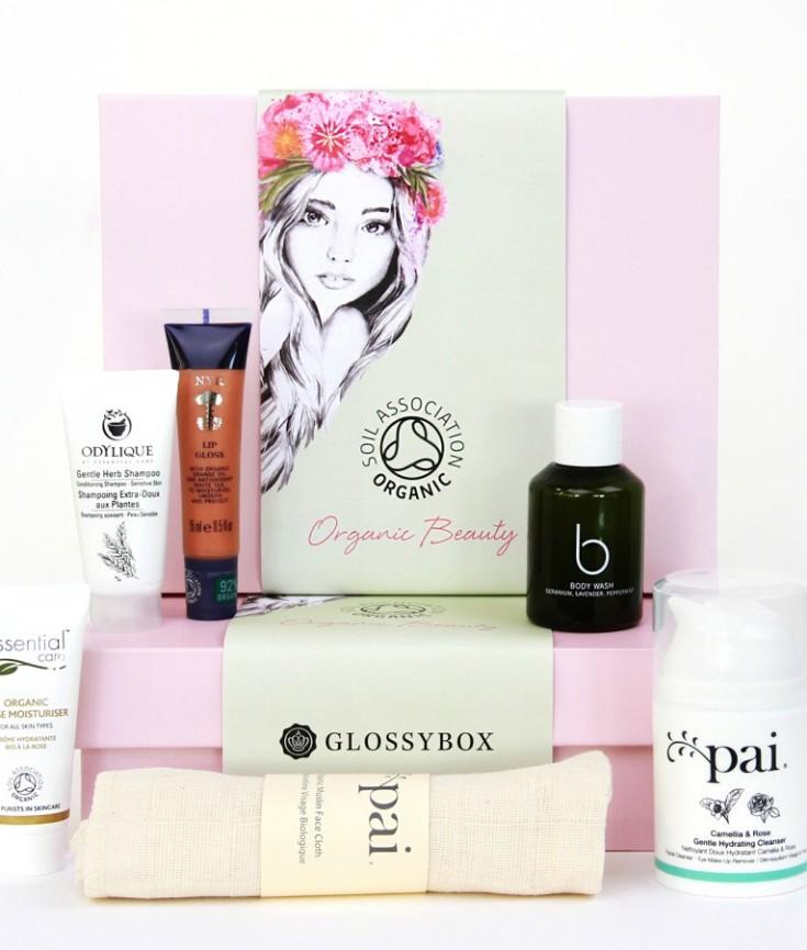 GLOSSYBOX Organic Beauty Box