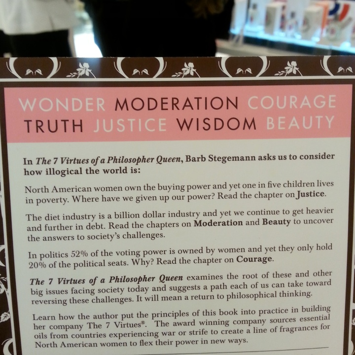 The 7 Virtues of a Philosopher Queen, by Barb Stegemann