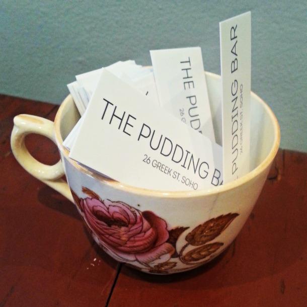 The Pudding Bar teacup