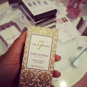 Wonder Lusting over The 7 VirtuesPerfumes