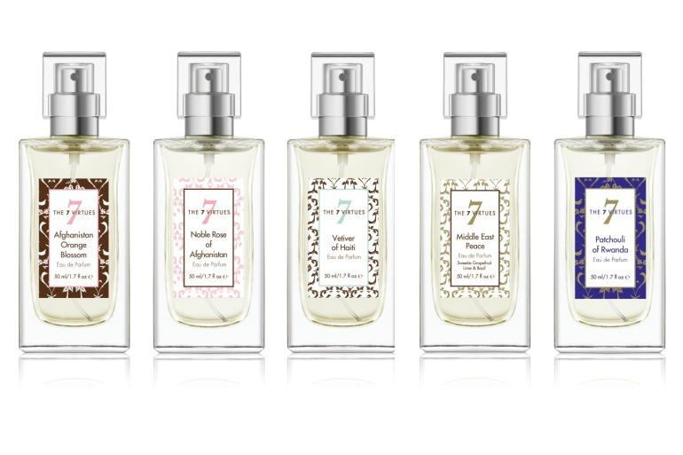 The 7 Virtues eau de parfum collection