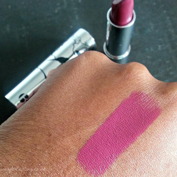 B. Gothika lipstick swatch