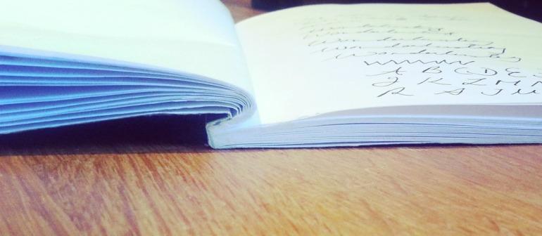 Chroma notebook opened up
