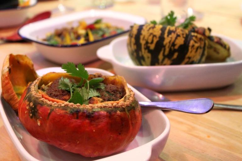 Massaman pumpkin/squash curry