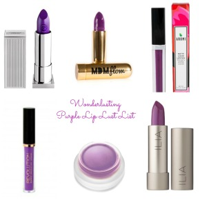 Purple Lipstick Lust List