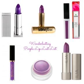 Purple Lipstick LustList