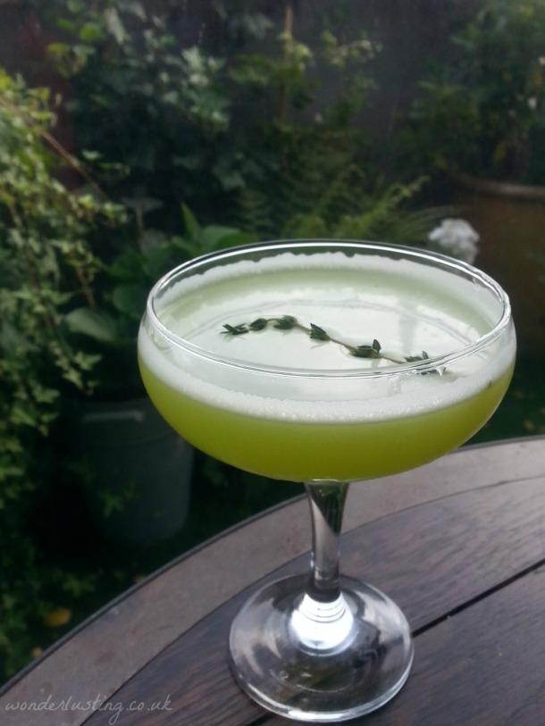 Secret Garden cocktail in Selfridge's secret garden
