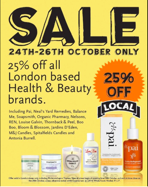 Wholefoods London Health & Beauty