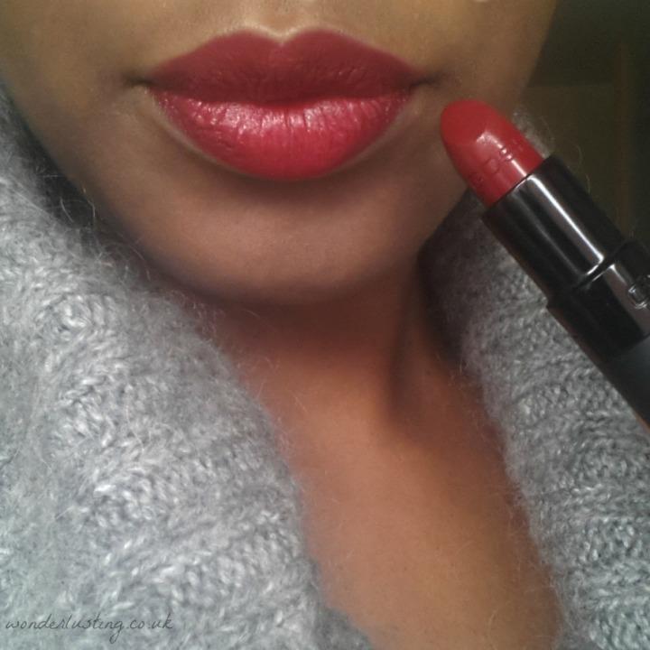 168 Diva, GOSH Velvet Touch lipstick swatch