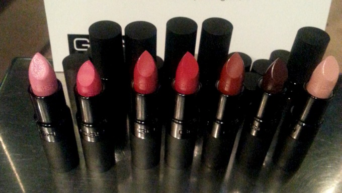 Gosh velvet touch lipsticks