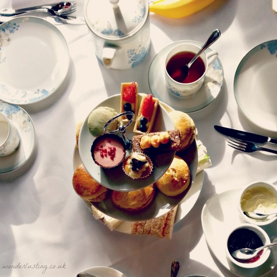 Afternoon tea, Laura Ashley The Manor Hotel