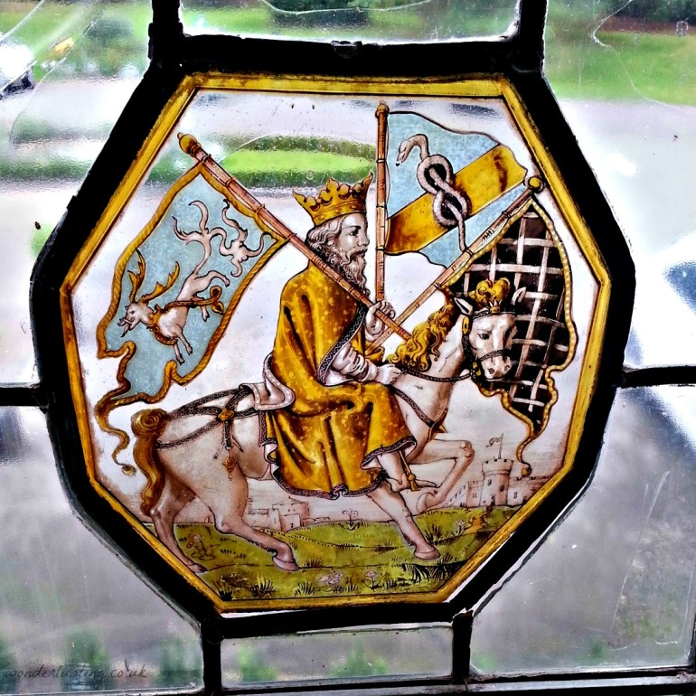 Stained glass, Laura Ashley The Manor hotel