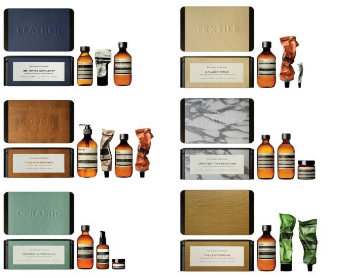 Aesop gift sets