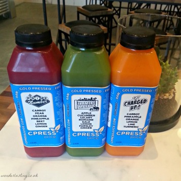 CPRESS cold-pressed juices